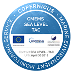 Copernicus - Marine Environment Monitoring Service - CMEMS Sea Level Tac